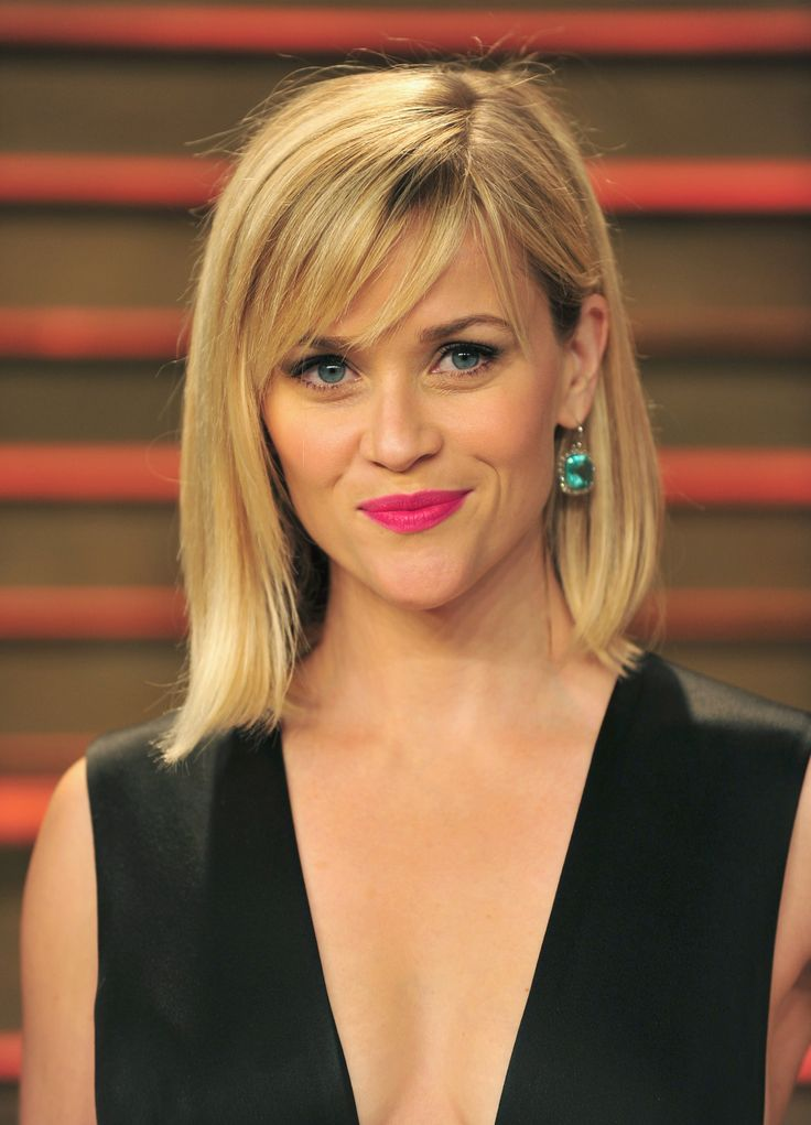 13 Ways To Wear The New Cool Girl Haircut // #ReeseWitherspoon #bob #bangs