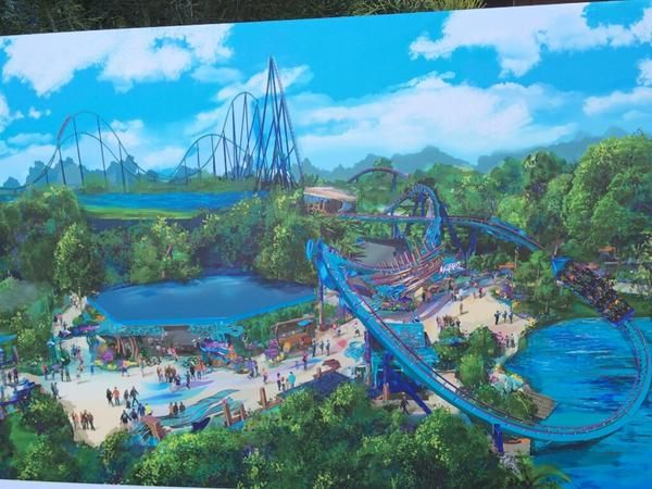 Mako Rollercoaster - new to Orlando 2016