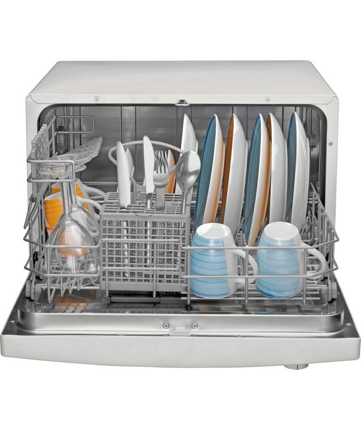 A Small Dishwasher Will Help Out You Much More Convenience. It Right For  Family With Small Kitchen And You Can Move ...