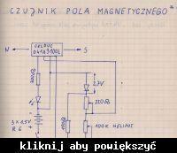 Nietypowy czujnik pola magnetycznego.