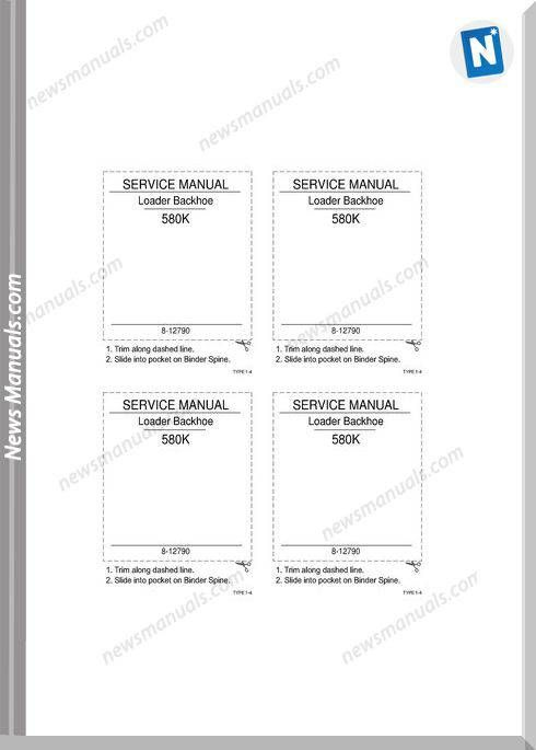 Case 580K Phase 3 Service Manual | Service Manual | Manual