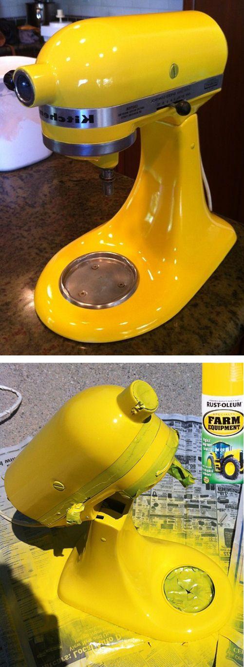 DIY - Paint Your Kitchen Aid Mixer