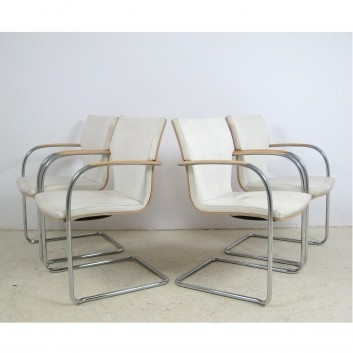 Modern Dining Chairs By Brunner, Germany