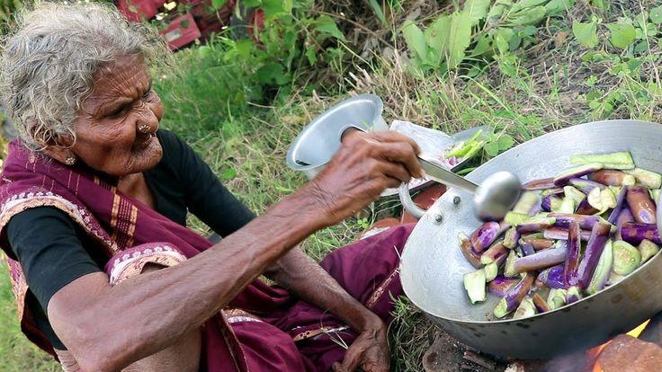 My 105 years Grandma's Yummy Brinjal Curry  |  World Best Brinjal Recipe...