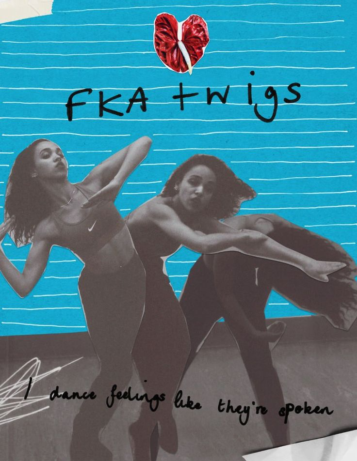 Collages by FKA twigs.