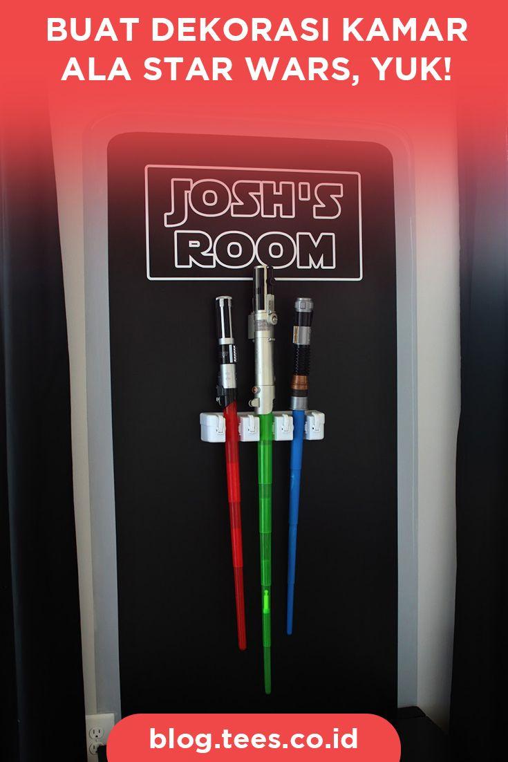 Decor your room with Star Wars theme | Click http://blog.tees.co.id/buat-dekorasi-kamar-ala-star-wars-yuk?utm_source=pinterest-social&utm_medium=post&utm_campaign=artikel #teesblog #starwars