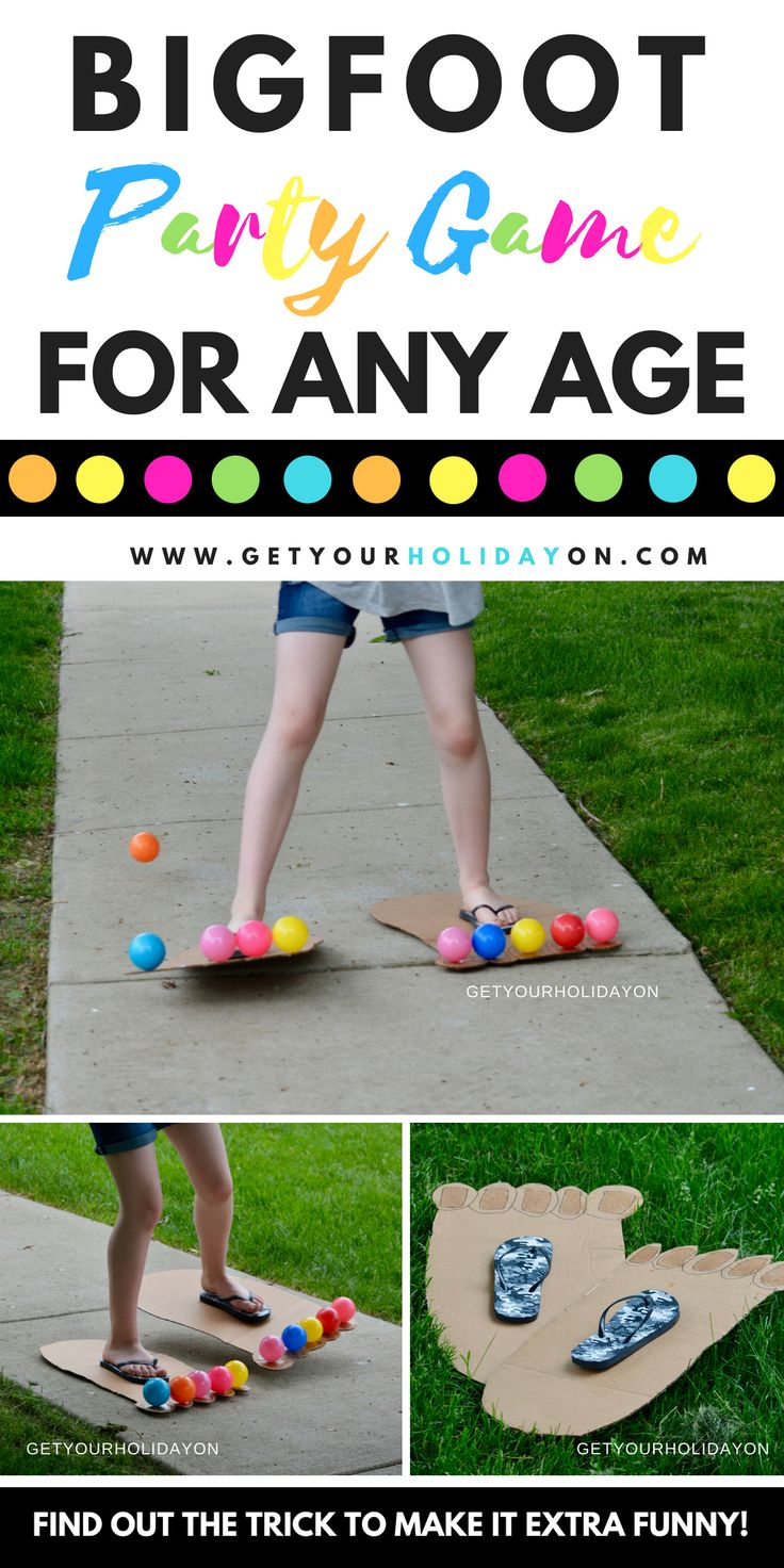 DIY Craft: Knock the socks off your feet and get started with the funniest foot game this summer! Play with the kids, invite family and friends over, or stomp around the house with the most hilarious DIY bigfoot feet Pinterest has ever seen. #play #diycrafts #diysummer