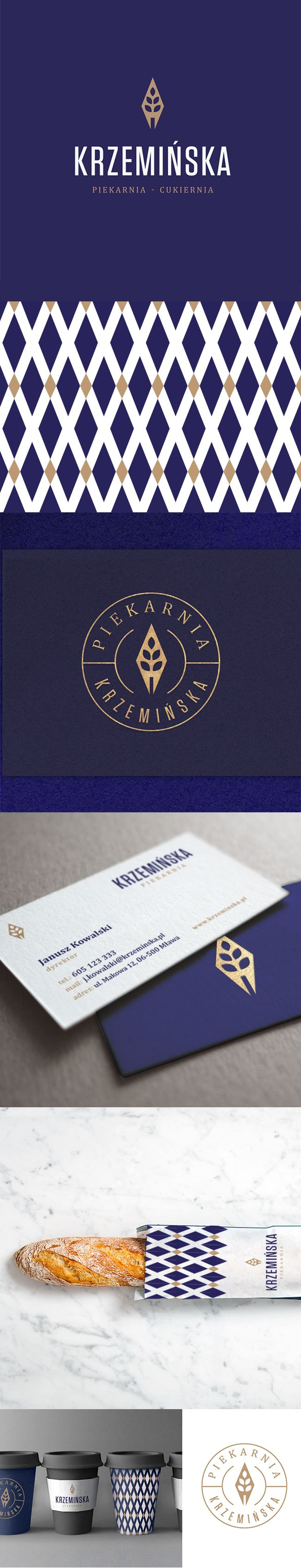 Branding project for small, local bakery.
