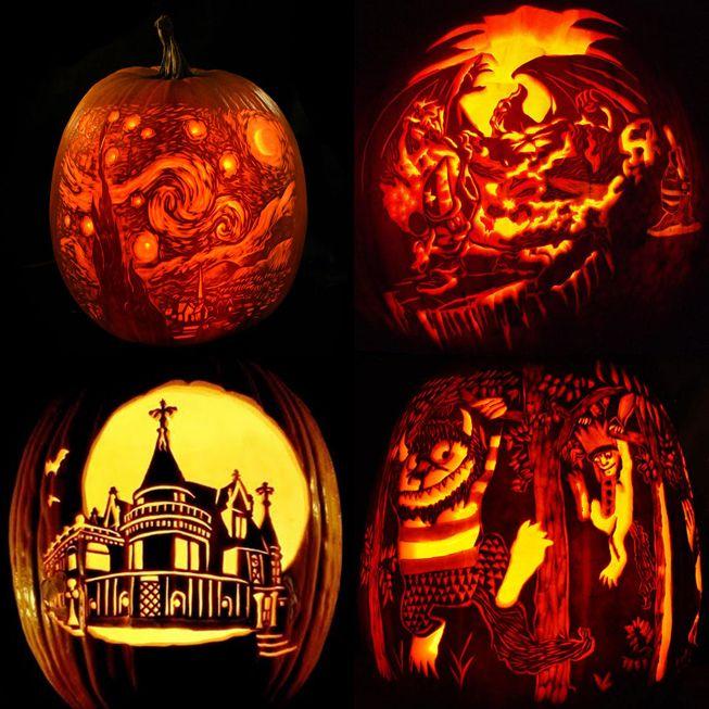 17 Best Images About Jack O Lantern Art On Pinterest