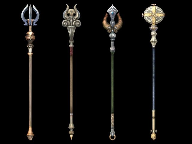 Magic staff design 3d model 3dsMax files free download - modeling 19004 on CadNav