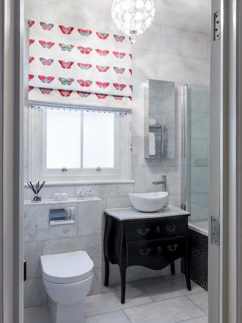 17 best ideas about bathroom window treatments on for Bathroom window treatments