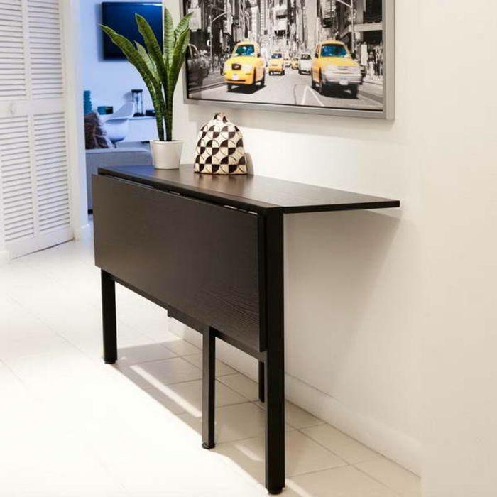 les 25 meilleures id es de la cat gorie console troite sur pinterest id es de petite table. Black Bedroom Furniture Sets. Home Design Ideas
