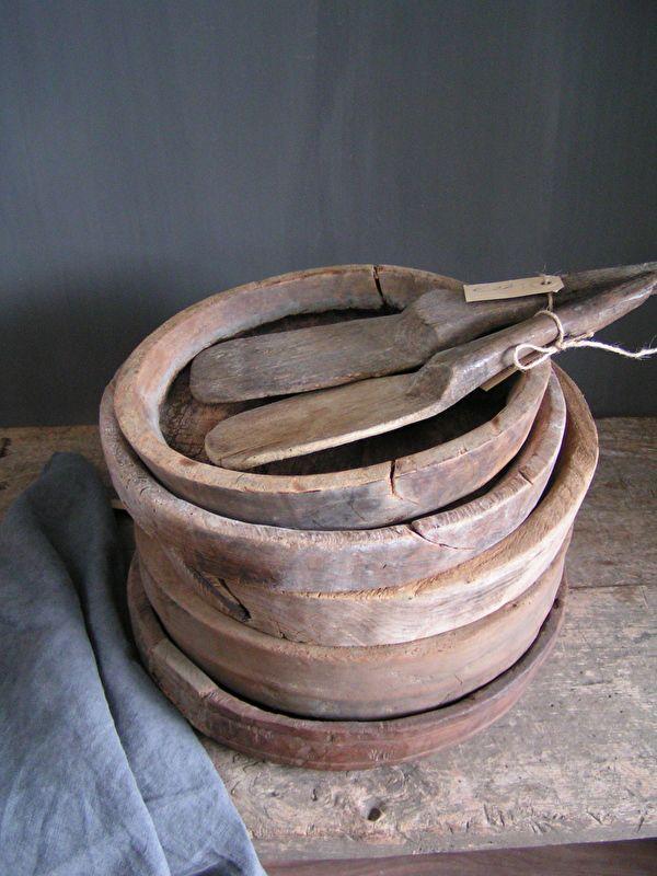 Oude houten schaal 10   Nieuw binnen   De Knotwilg Landelijk Wonen