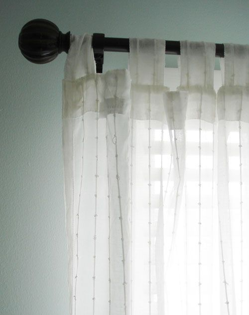 These are the perfect curtains for a coastal room, light and flowy...they are Matilda  from Ikea