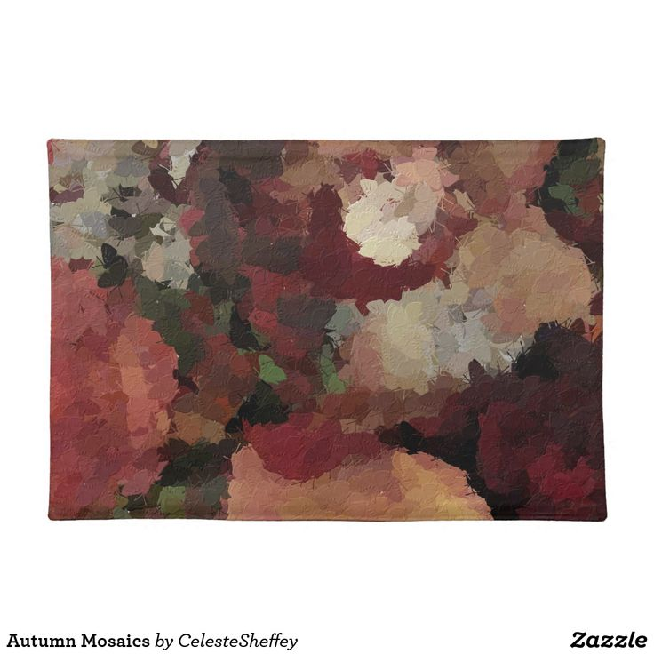 4 Autumn Mosaics Placemats (sold in New Mexico) Thank you!