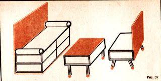 Игрушечный домик с мебелью