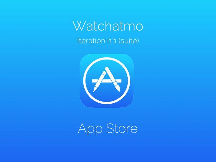 Watchatmo arrive sur l'App Store