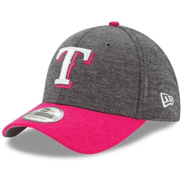 Texas Rangers New Era Mother's Day 39THIRTY Flex Hat - Graphite