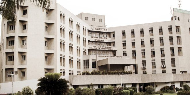 Saveetha Dental College admission 2017  Established Year:1988  About Us  Saveetha dental college begun its journey in dental education with a strength of 40 students. Its here a small tight community of dental professional who have become principal...