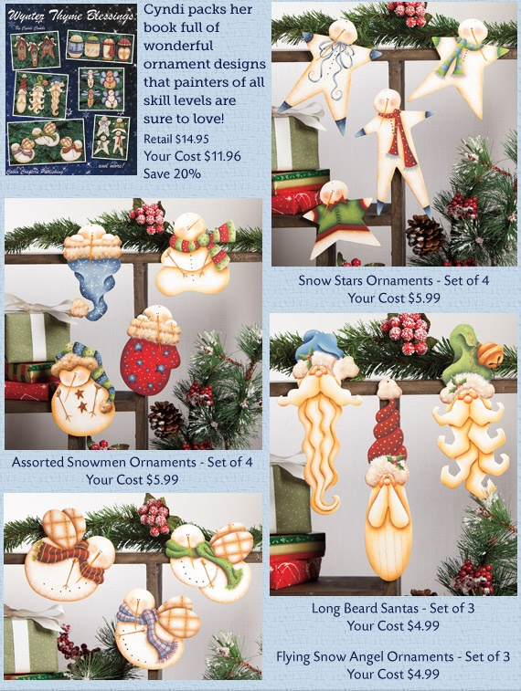 Wynter Thyme Blessings Projects: Christmas Time, Christmas Crafts, Diy Crafts, Blessings Projects, Woodcraft Patterns, Holidays Diy Style, Tole Crafts, Painting