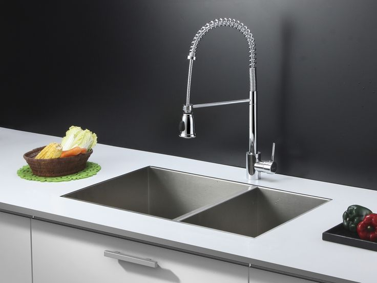 Stainless Steel Kitchen Sink And Faucet Combo