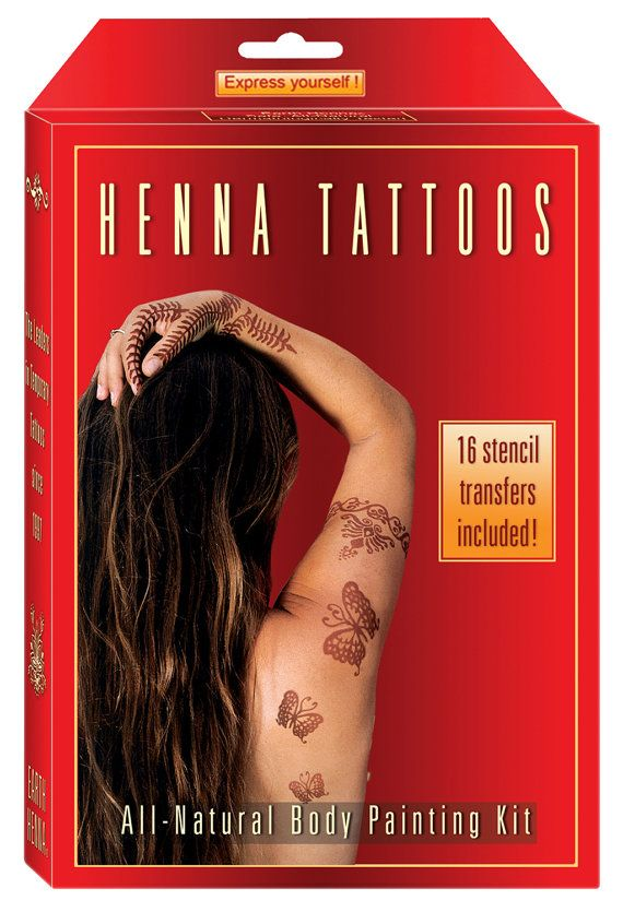 12 best body stuff yum images on pinterest beauty for Henna tattoo kits target