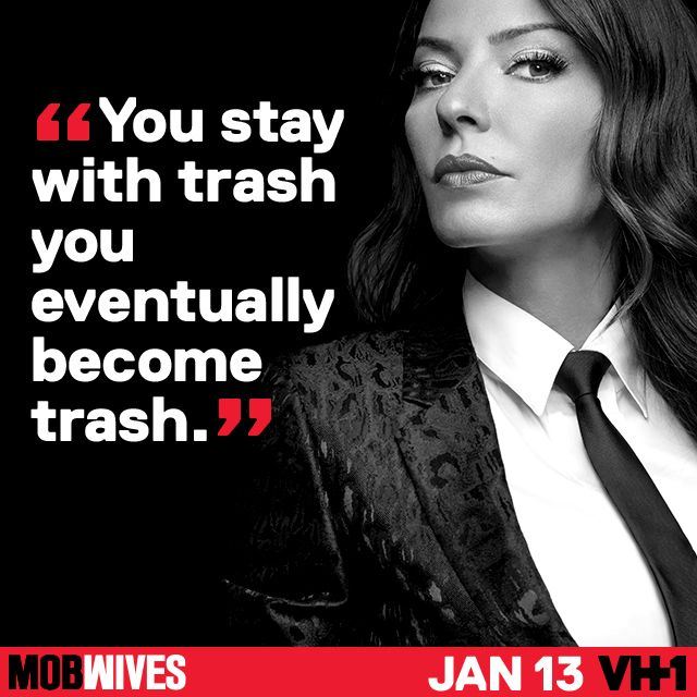 Merry Christmas! Don't forget to recycle. #MobWives