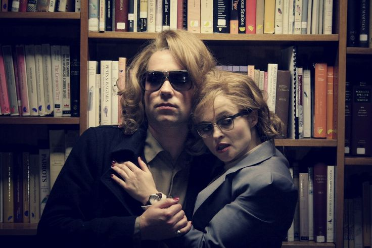 Out of the Game' (2012,) music video by Rufus Wainwright, directed by Philip Andelman. director, styling by Emma Lamp, Rufus Wainwright, Rufus Wainwright's sunglasses and Helena Bonham Carter's spectacles are from General Eyewear's 790-995 series.