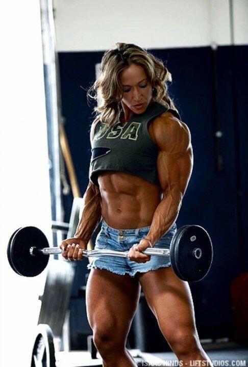 Reifer weiblicher Muskel