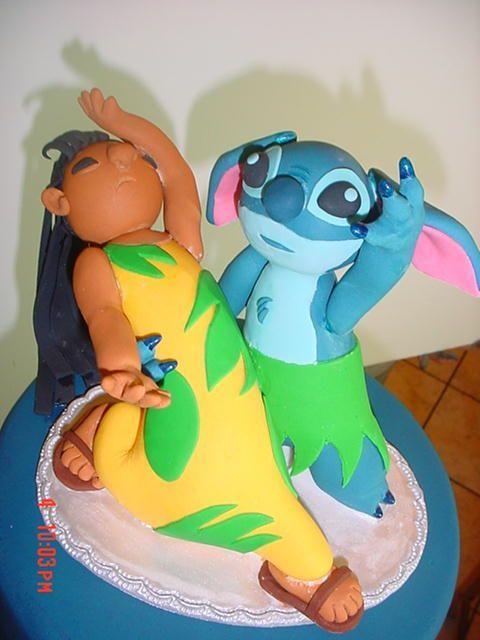 lilo and stitch cakes | Lilo & Stitch Cake!! | LUUUX