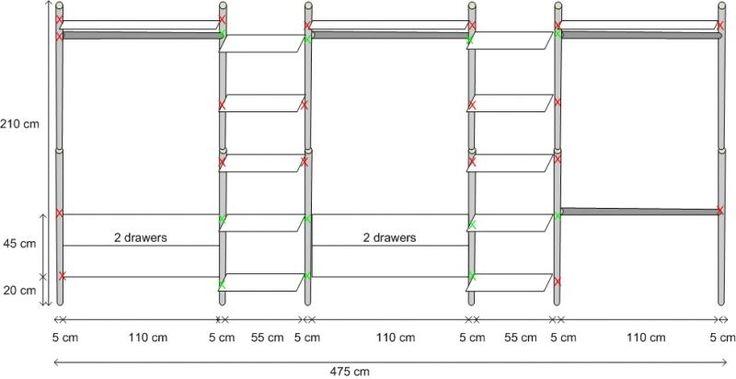 Ikea Stolmen Wardrobe Dimensions