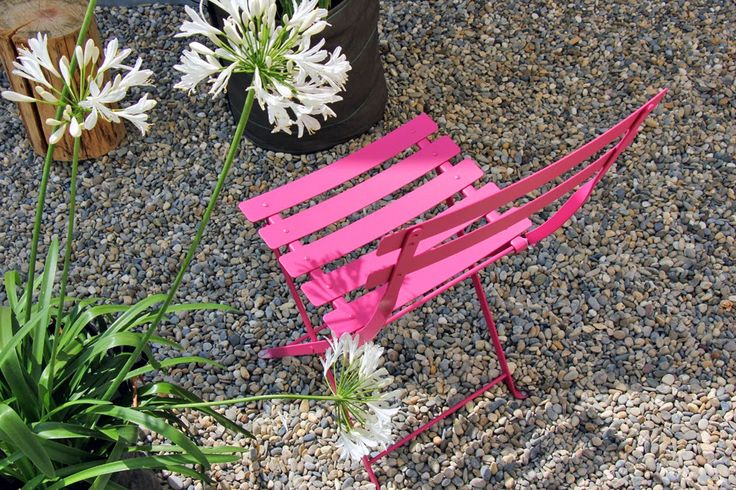 Chaise #Bistro #rose #Fuchsia #Fermob / #outdoor #pink