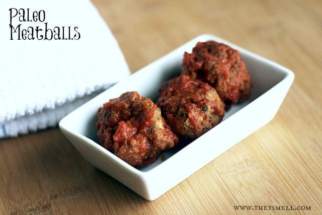 paleo gluten free meatballs. making these tonight with ground buffalo.
