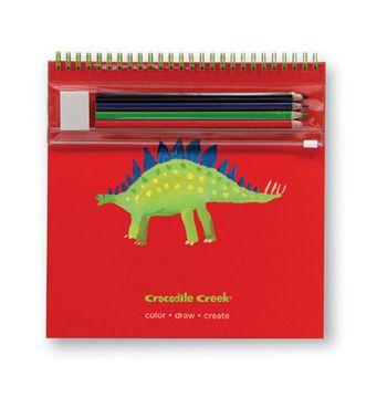 Crocodile Creek <br>Deluxe Sketch Pad <br>Stegosaurus