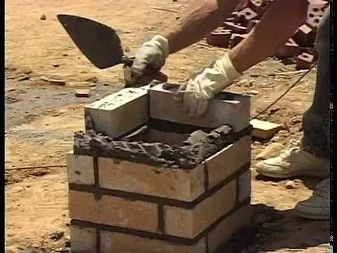 How To Lay Brick Columns and Soldier Courses! - YouTube