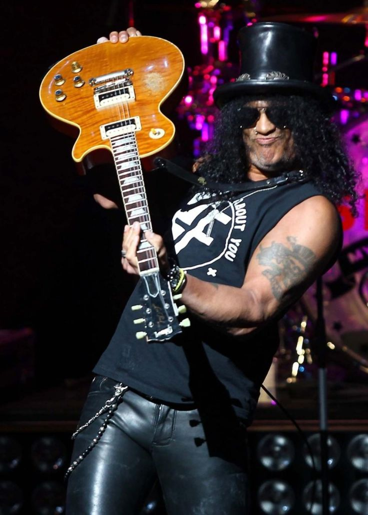 Slash at his apocalyptic love tour at the jubilee auditorium in calgary.