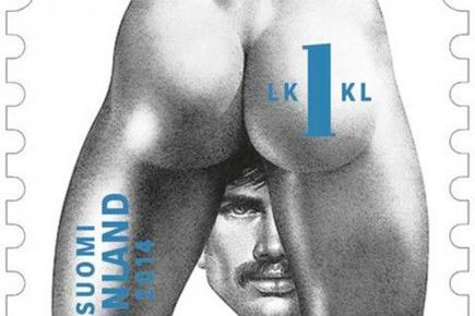 La poste finlandaise s'ouvre à l'homoérotisme | Tom of Finland | Racy homoerotic postage stamps set for release in Finland