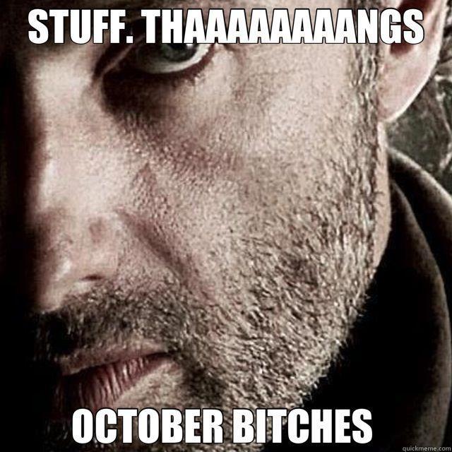 The Walking Dead returns in October!