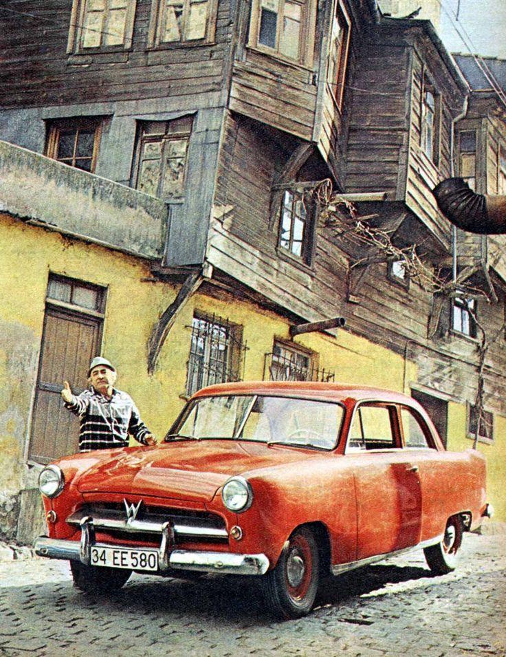 Ali Şen ve 1956 model Willys marka otomobili ~ 1966