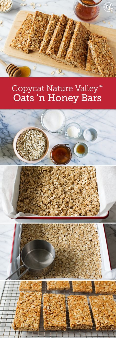 Ever wonder how Nature Valley™ Oats 'n Honey bars are made? See for yourself with this DIY-version of the classic granola bar that's packed with simple, wholesome ingredients like oats, honey and coconut oil.