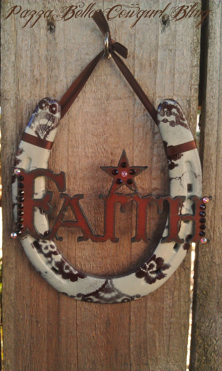 293 best images about horse shoe crafts on pinterest for Horseshoe arts and crafts