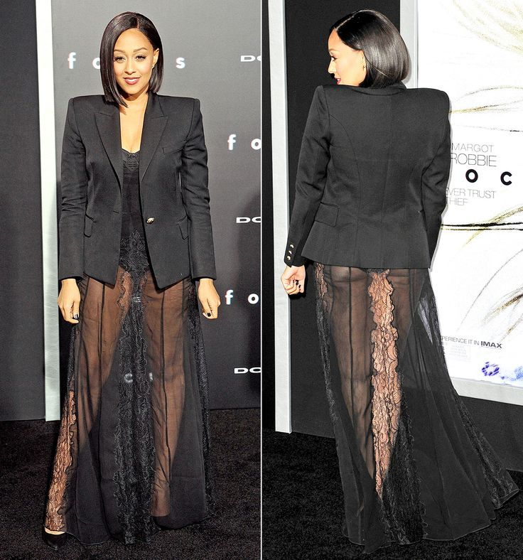 Peek-a-Booty! Tia Mowry Shows Her Backside in a Sheer Dress | Sexy, On tuesday and Carpets