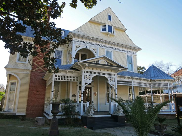 Koenigstahl House At Selma Al Beautiful 2 1 Story Queen Anne Home