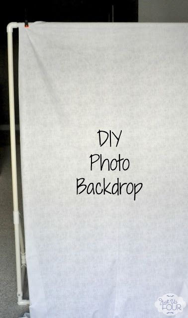 how to build a backdrop stand