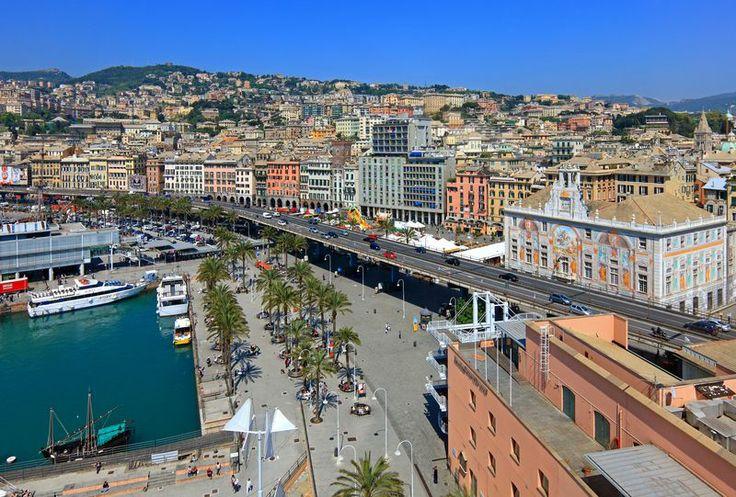 Sopraelevata, Porto Antico, Genova, Italy