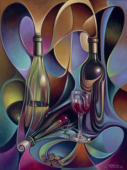 Wine Spirits - by Ricardo Chavez-Mendez