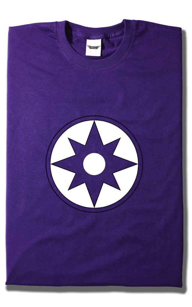 Camiseta Linterna Violeta