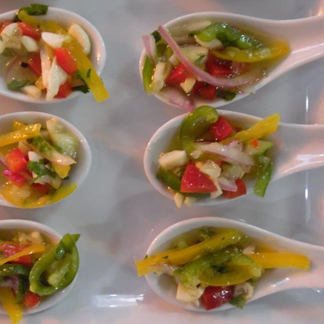 Fresco y rico ceviche de verduras #yummy #saludable #ElChefesSeco #Curauma #Placilla #instacurauma #Valparaíso #curaumacity #catering #banquetería #healthyeating #verduras