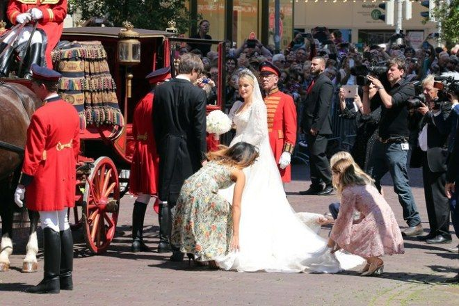 mariage roayl d'été Ekaterina & Ernst August Jr. De Hanovre