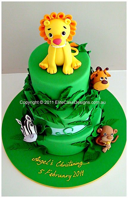 Best Lion Birthday Cakes And Party Ideas Images On Pinterest - Lion birthday cake design